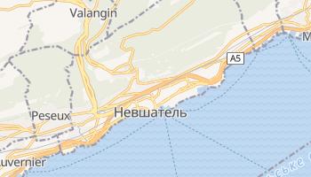 Невшатель - детальна мапа