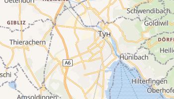 Тун - детальна мапа