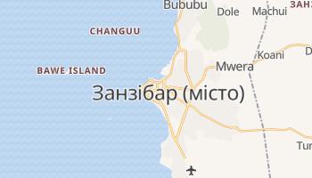 Занзібар - детальна мапа