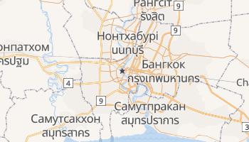 Бангкок - детальна мапа
