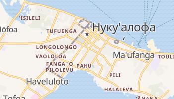 Нукуалофа - детальна мапа