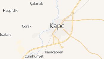 Карс - детальна мапа
