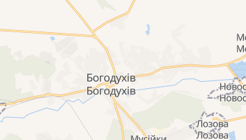 Богодухів - детальна мапа