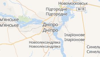 Дніпропетровськ - детальна мапа