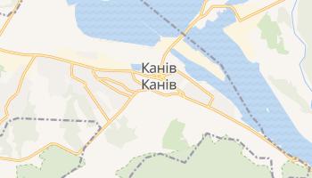 Канів - детальна мапа