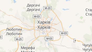 Харків - детальна мапа