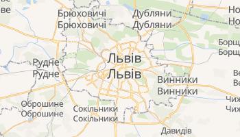 Львів - детальна мапа