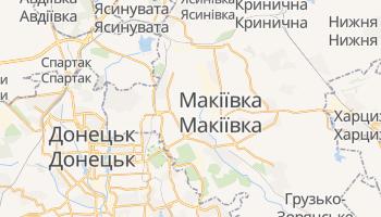 Макіївка - детальна мапа