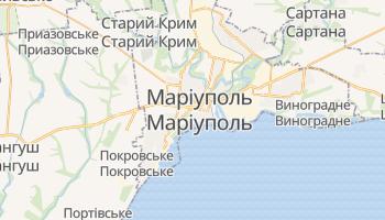 Маріуполь - детальна мапа