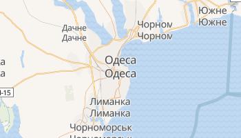 Одеса - детальна мапа