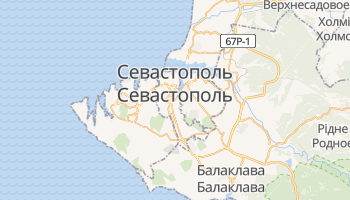 Севастополь - детальна мапа