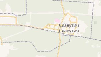 Славутич - детальна мапа