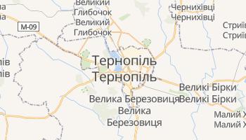 Тернопіль - детальна мапа