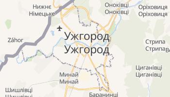 Ужгород - детальна мапа
