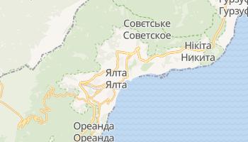 Ялта - детальна мапа