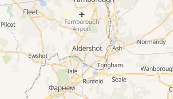 Олдершот - детальна мапа