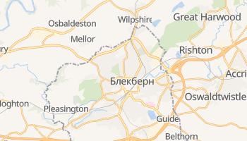 Блекберн - детальна мапа