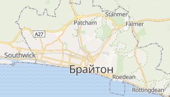 Брайтон - детальна мапа