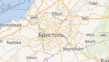 Брістоль - детальна мапа