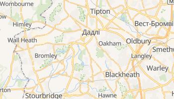 Дадлі - детальна мапа