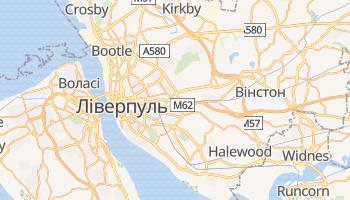 Ліверпуль - детальна мапа