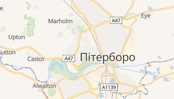 Пітерборо - детальна мапа
