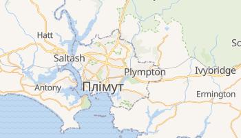 Плімут - детальна мапа