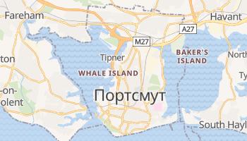 Портсмут - детальна мапа