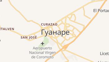 Гуанаре - детальна мапа