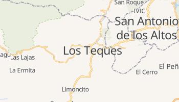 Лос-Текес - детальна мапа