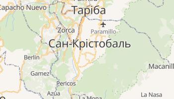 Сан-Крістобаль - детальна мапа