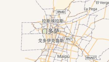 门多萨 - 在线地图