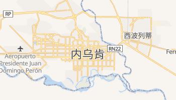 内乌肯 - 在线地图
