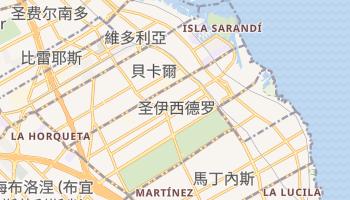 圣伊西德罗 - 在线地图
