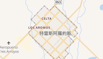 特雷斯阿羅約斯 - 在线地图
