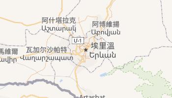 葉里溫 - 在线地图