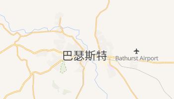 巴瑟斯特 - 在线地图