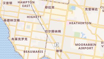 切爾滕納姆 - 在线地图