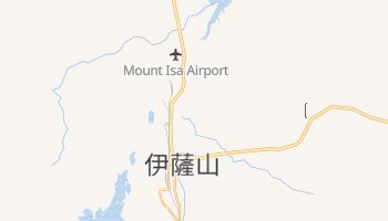伊薩山 - 在线地图