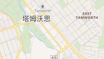 塔姆沃思 - 在线地图