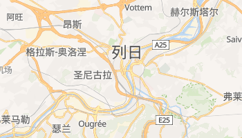 列日 - 在线地图