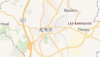 尼韦尔 - 在线地图
