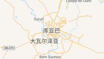 库亚巴 - 在线地图