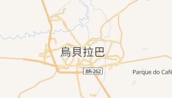 烏貝拉巴 - 在线地图