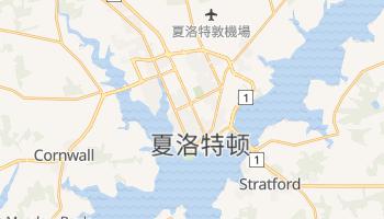 夏洛特顿 - 在线地图