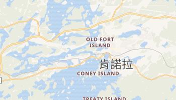 肯諾拉 - 在线地图