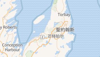 聖約翰斯 - 在线地图