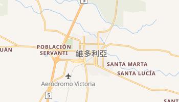 维多利亚 - 在线地图
