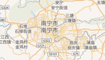 南宁市 - 在线地图