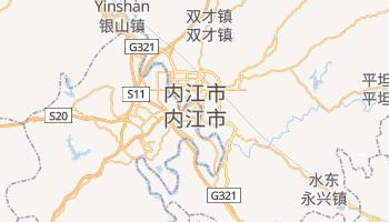 内江市 - 在线地图